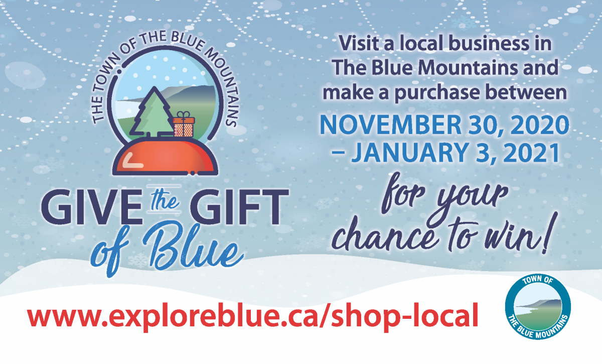 Give the Gift of Blue Contest Image