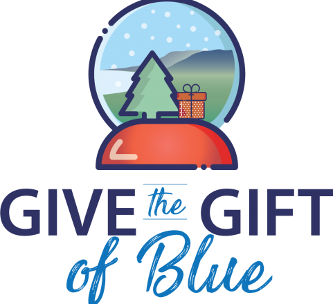 Give The Gift of Blue